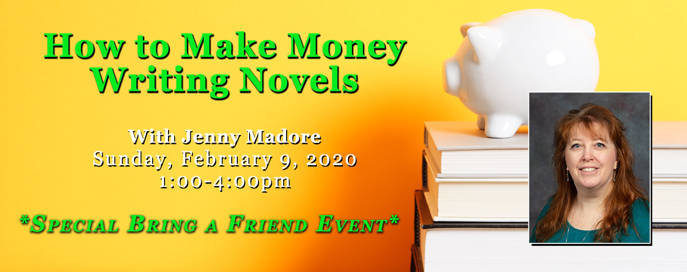 How to Make Money Writing Novels with Jenny Madore