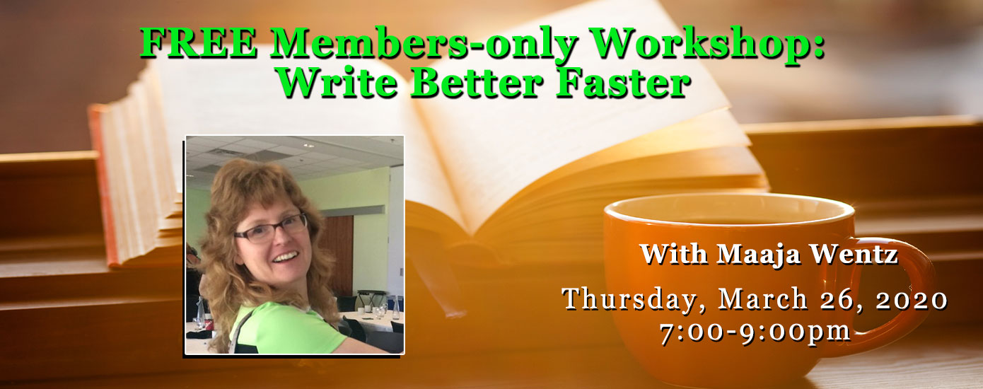 Write Better Faster with Maaja Wentz