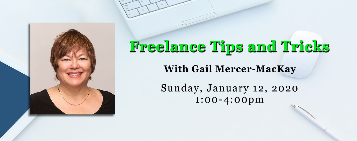 Freelance Tips and Tricks with Gail Mercer-MacKay