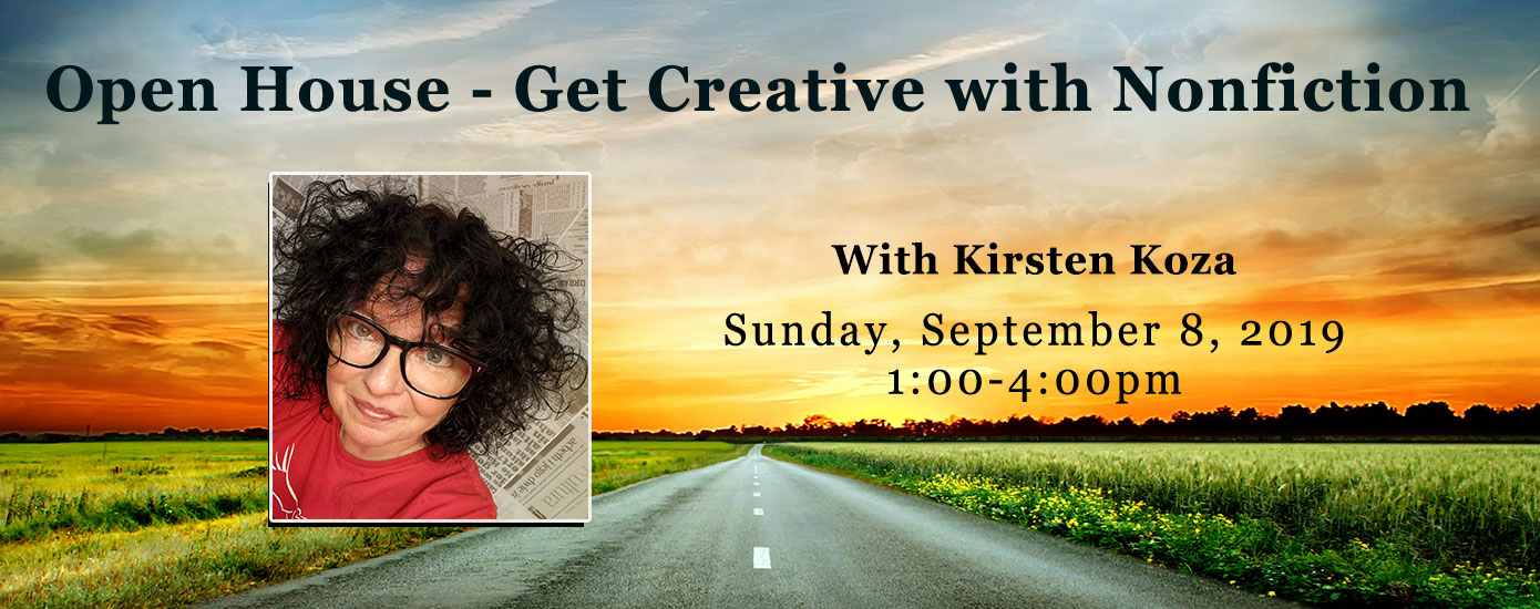 Open House with Kirsten Koza